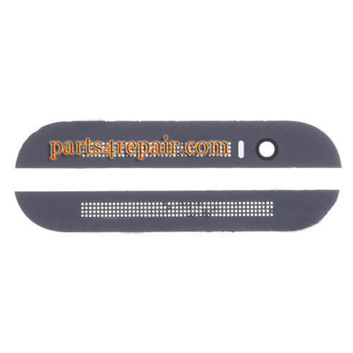 Top Cover & Bottom Cover for HTC One M8 -Gray