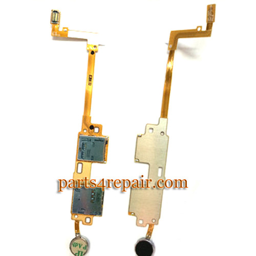 SIM Holder Flex Cable for Samsung Galaxy Note 10.1 P601 P605 (2014 Edition) from www.parts4repair.com