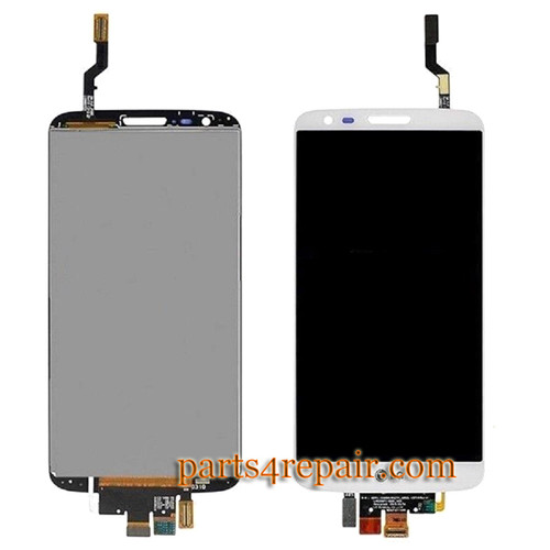 Complete Screen Assembly for LG G2 LS980 from www.parts4repair.com