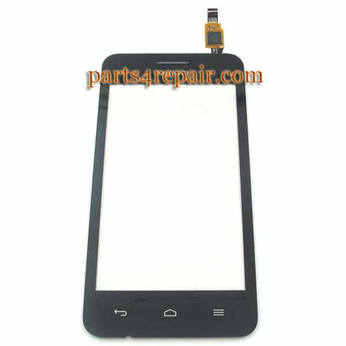 Touch Screen Digitizer for Huawei Ascend Y330 -Black from www.parts4repair.com