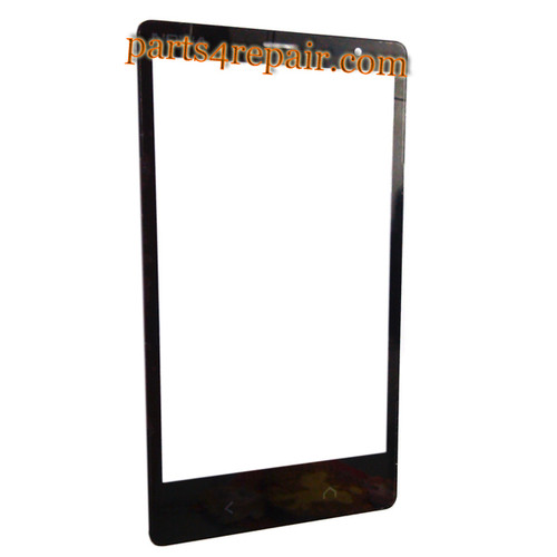 Front Glass OEM for Nokia X2 Dual SIM -Black from www.parts4repair.com