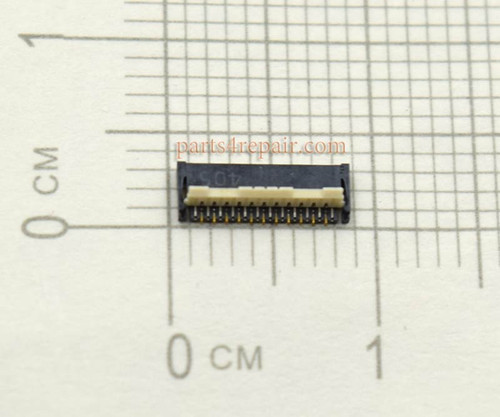 LCD Screen FPC Connector for HTC Desire 700