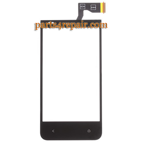 Touch Screen Digitizer for HTC Desire 300 -Black from www.parts4repair.com