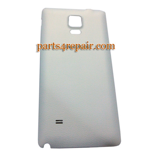 Back Cover for Samsung Galaxy Note 4 -White