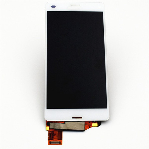 Complete Screen Assembly for Sony Xpeira Z3 Compact mini -White