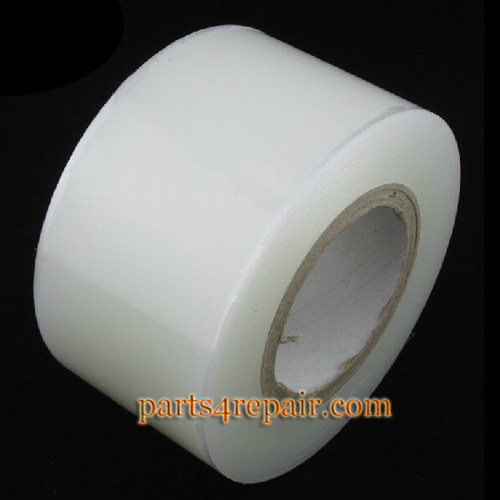 1 Roll PE Anti-dust Transparent Self Adhesive LCD Screen Clear Sticky Protecive Film