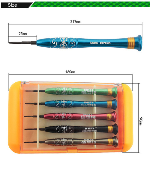 5 in 1 Screwdrivers Tools with Magnetic