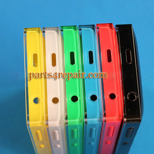 Back Cover with Side Keys for Nokia Asha 500 from www.parts4repair.com