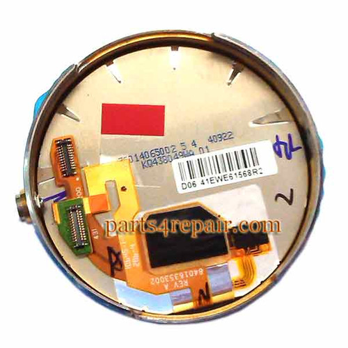 Complete Screen Assembly for Motorola Moto 360 Smartwatch -Silver