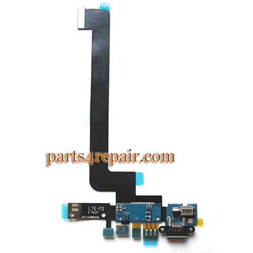 Dock Charging Flex Cable for Xiaomi MI 4 from www.parts4repair.com
