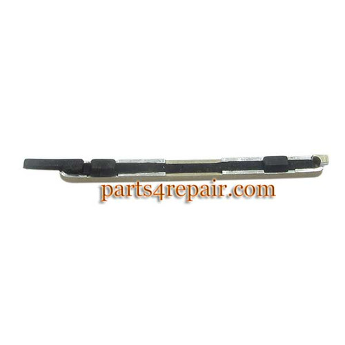 Volume Button for HTC One M8 -Gold