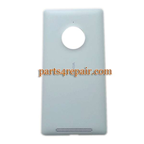 Back Cover with Wireless Charging Coil for Nokia Lumia 830 -White from www.parts4repair.com