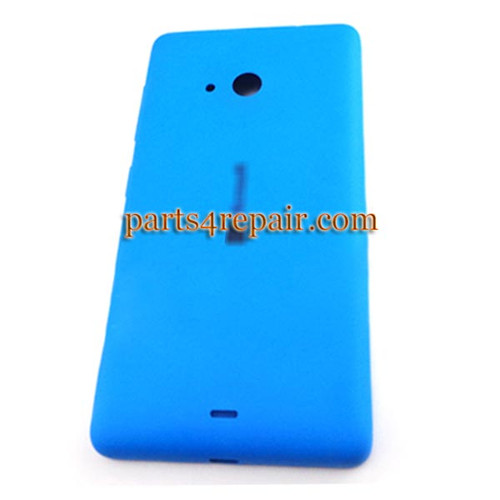 Back Cover with Side Keys for Microsoft Lumia 535 -Blue (Matte Surface)