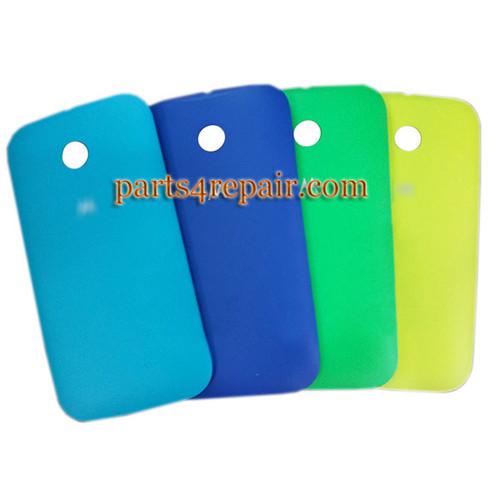 Back Cover for Motorola Moto E XT1021 -Dark Blue