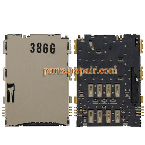 SIM Contact Connector for Samsung P6200 Galaxy Tab 7.0 Plus
