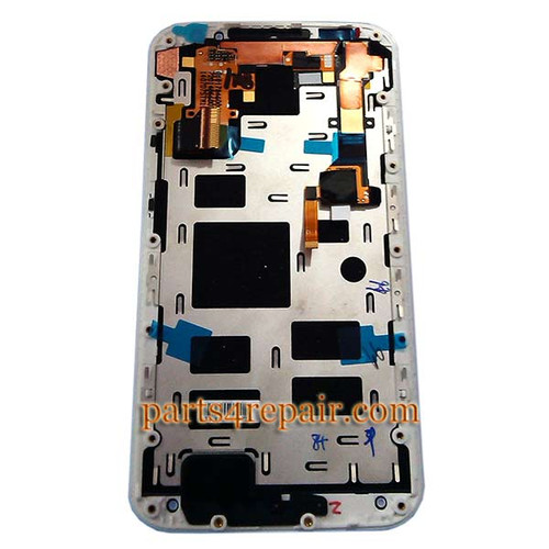 Complete Screen Assembly with Bezel for Motorola Moto X2 XT1097 (for AT&T) -White