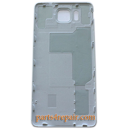 Back Cover for Samsung Galaxy Alpha G850 -White