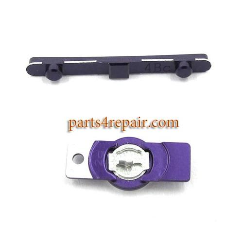 Side Keys for Sony Xperia Z L36H -Purple