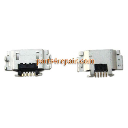 Dock Charging Port for Sony Xperia T2 Ultra from www.parts4repair.com
