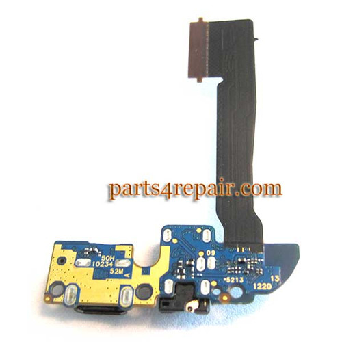 Dock Charging Flex Cable OEM for HTC One M8 AT&T