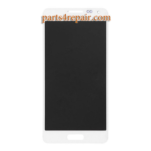 Complete Screen Assembly for Samsung Galaxy Alpha (S801) G850 -White