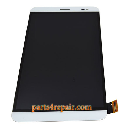 Complete Screen Assembly for Huawei Mediapad X2 -White