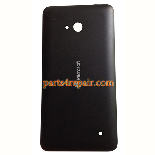 Back Cover with Side Keys for Microsoft Lumia 640 (Matte Surface) -Black