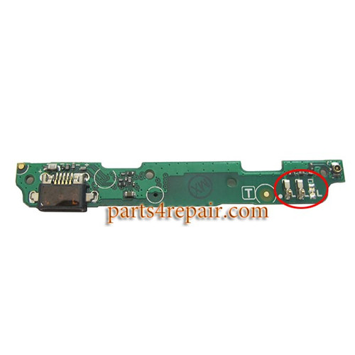 Dock Charging PCB Board for Xiaomi Redmi 2 from www.parts4repair.com