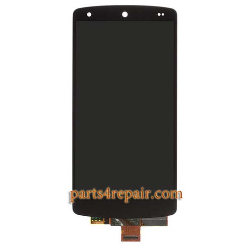 Complete Screen Assembly for LG Nexus 5 D820 -Black