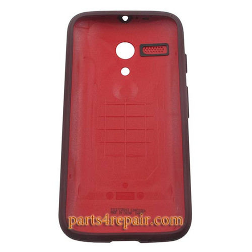 Grip Shell Protective Case for Motorola Moto G XT1032 -Red