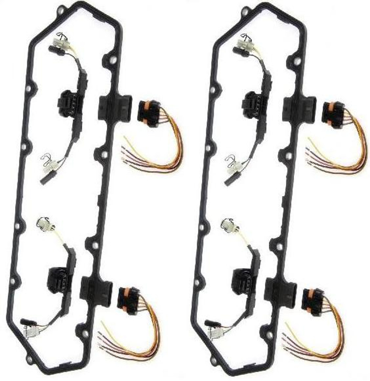 dorman 94 97 ford dual valve cover gasket with fuel injector wiring rh blackclouddiesel com