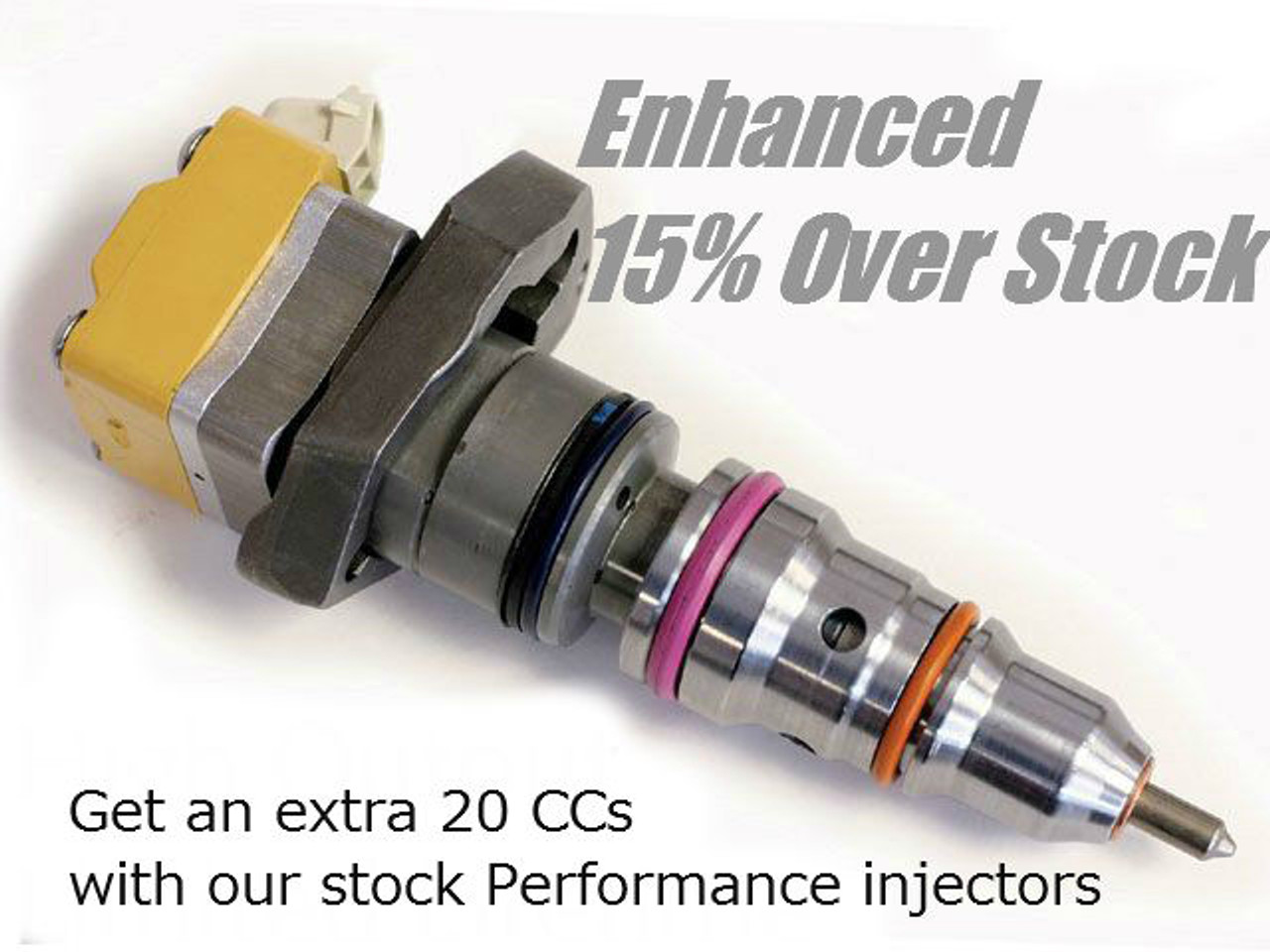 UDP Enhanced Stock AD Injectors 1999-2003 Ford 7.3L Powerstroke