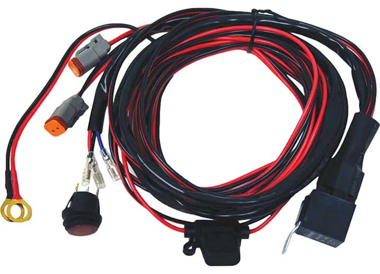 Rigid led wiring harness auto electrical wiring diagram wiring harness for use with rigid industries d2 dually led light set rh blackclouddiesel com rigid swarovskicordoba Gallery