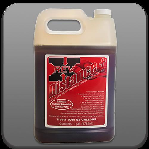 Diesel Fuel Additive RevX Distance+ Plus Diesel Fuel Treatment 1 Gallon Bottle