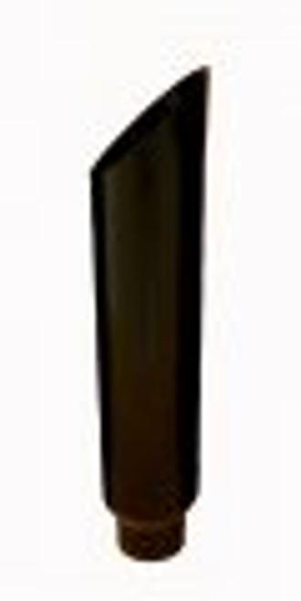 "10"" Black Stack Mitre Cut Black Powder Coated Stainless Stack 5"" OD Base"