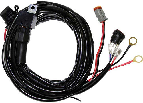 Wiring Harness for use with Rigid Industries 10 inch, 20 inch, 30 inch and 40 inch Light Bars RIG40193