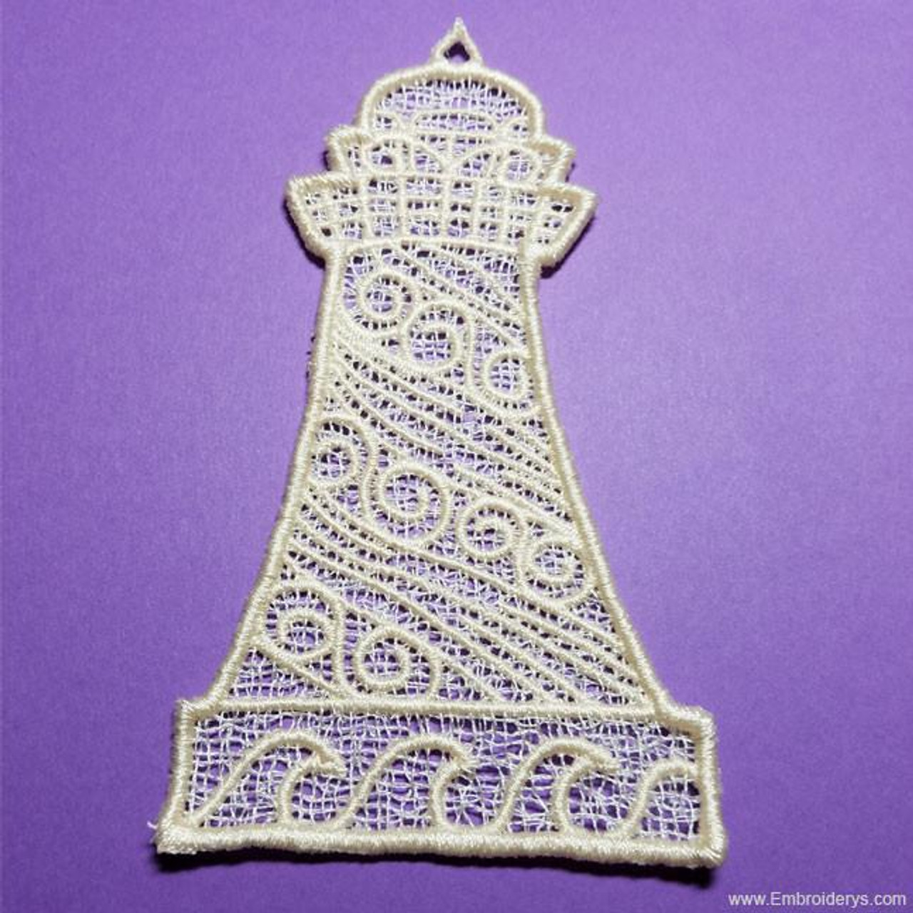 Lighthouse Free Standing Lace Machine Embroidery Designs