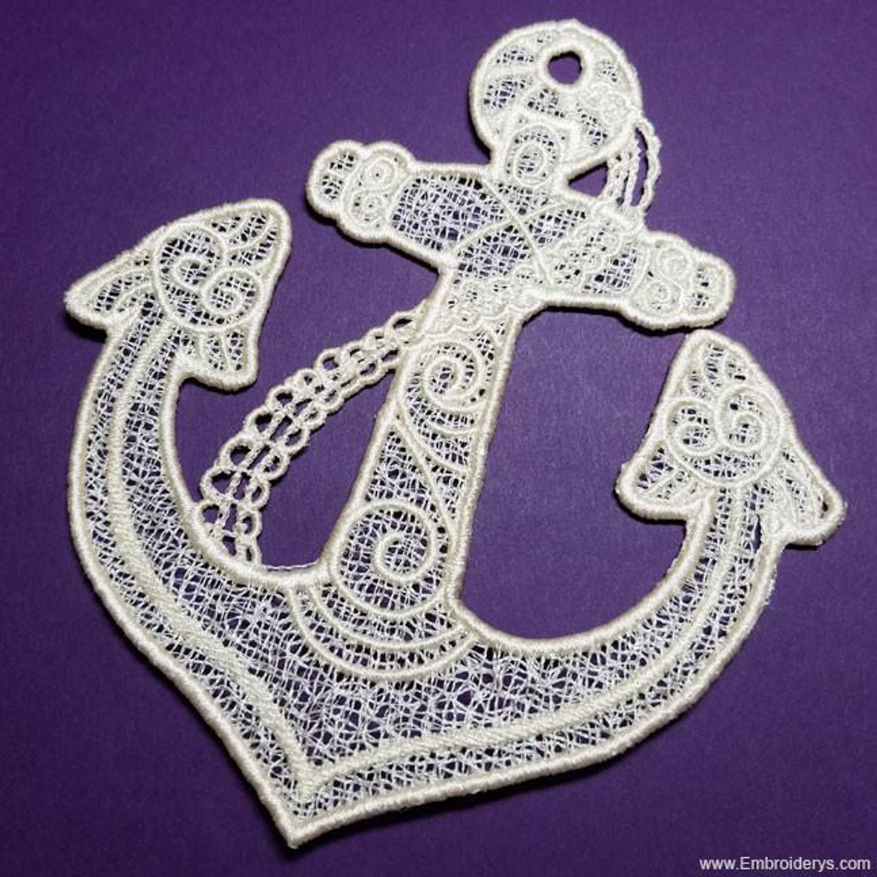Anchor Free Standing Lace Machine Embroidery Designs