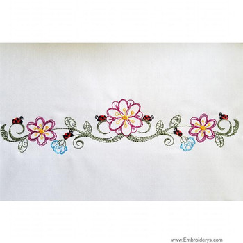 All Embroidery Designs Borders Machine Embroidery Tattered