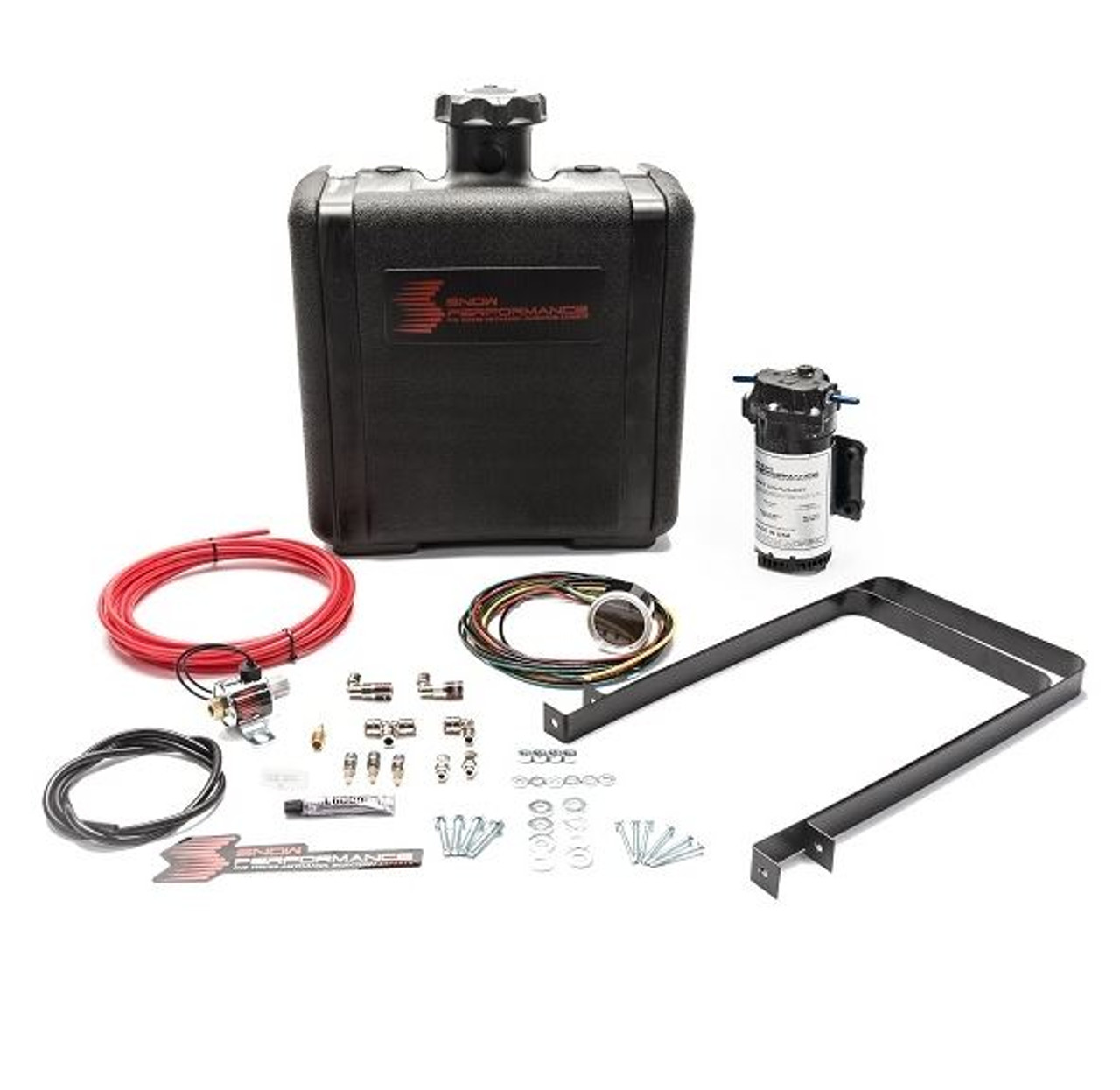 Snow Performance Diesel Stage 2 Boost Cooler Water-Methanol Injection Kit for Chevy/ GMC Duramax LBZ/LLY/LMM/LML/L5P (SNO-430)