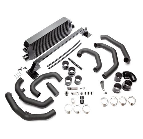 Cobb Front Mount Intercooler Kit (Black) For 15-18 Subaru STI