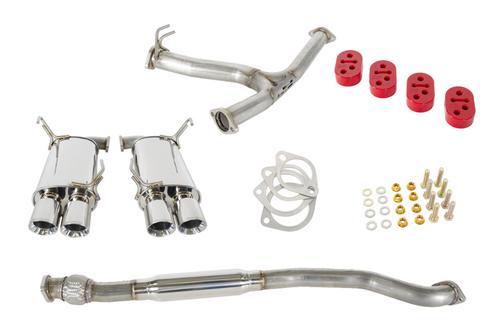 GrimmSpeed Resonated Catback Exhaust System 11+ Subaru WRX/STi Sedan