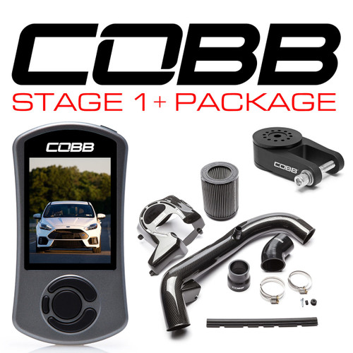 Cobb Ford Stage 1+ Carbon Fiber Power Package For 2016-2018 Focus RS