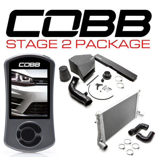 Cobb Stage 2 Power Package For 15-17 Volkswagen Golf R (MK7) USDM