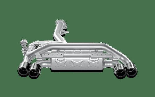 Akrapovic Slip-On Line (Titanium) w/ Carbon Tips for 11-12 BMW 1 Series M Coupe (E82)