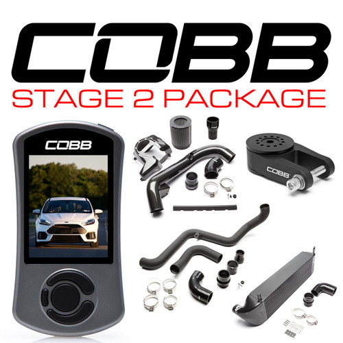 Cobb Ford Stage 2 Power Package Black For 2016-2018 Focus RS