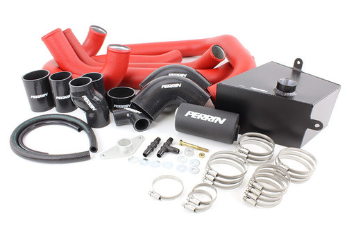 Perrin Boost Tube Kit (Red) For 2015-2019 Subaru STI