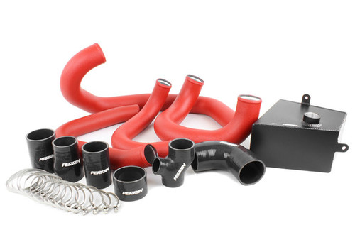 Perrin Boost Tube Kit (Red) For 2015-2019 Subaru WRX