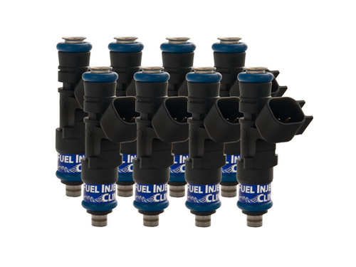 445cc (50lbs/hr) FIC Fuel Injector Clinic Injector Set For Dodge Hemi SRT-8, 5.7, Hellcat (High-Z)
