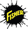 """29037 - """"FISHER HARDENED CLEVIS W/COTTER"""